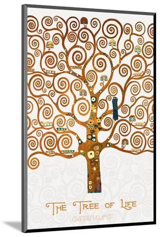 The Tree of Life Pastiche Marzipan-Gustav Klimt-Mounted Premium Giclee Print