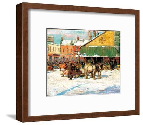 Byward Market, Ottawa-Franklin Brownell-Framed Art Print