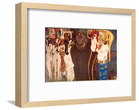 The Hostile Force, c.1902-Gustav Klimt-Framed Art Print