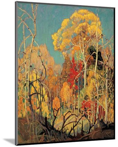 Autumn in Orillia-Franklin Carmichael-Mounted Premium Giclee Print