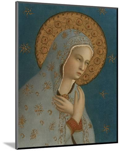 Madonna della Pace, c.1387-1455-Fra Angelico-Mounted Premium Giclee Print