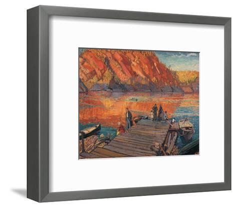 Bon Echo-Arthur Lismer-Framed Art Print