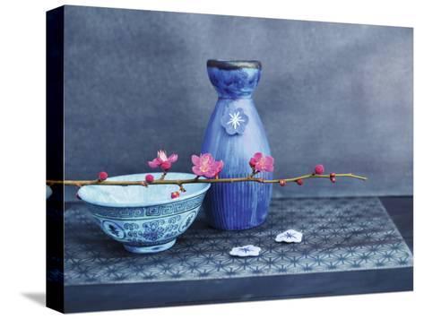 Indigo Nature-Amelie Vuillon-Stretched Canvas Print