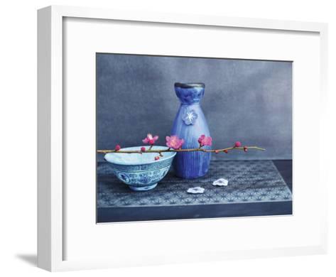 Indigo Nature-Amelie Vuillon-Framed Art Print