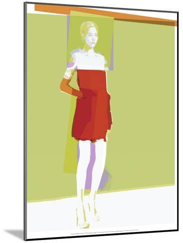 Fashion 3-Arnaud Tracol-Mounted Art Print