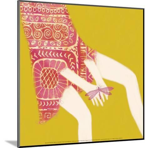 Hands And Dragonfly-Nicole De Rueda-Mounted Art Print