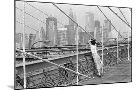 Brooklyn Bridge, New York, 1982-Édouard Boubat-Mounted Art Print