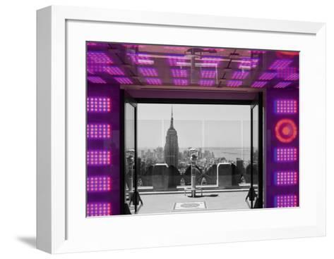 View From Rockfeller Center, NY-Torsten Andreas Hoffmann-Framed Art Print