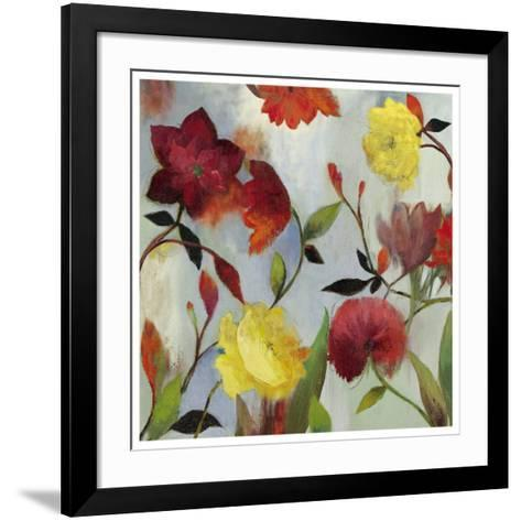 Wildflowers II-Asia Jensen-Framed Art Print