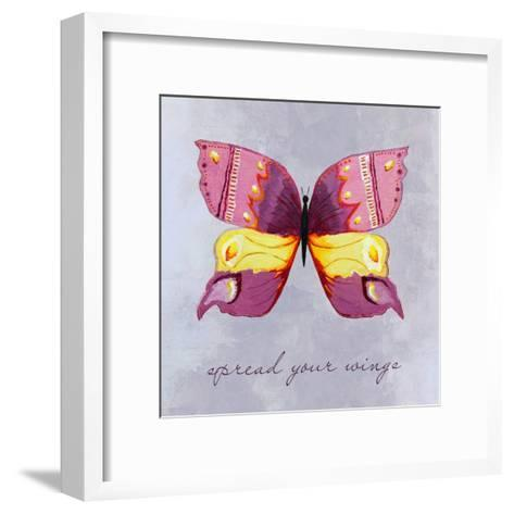 Spread Your Wings-Liz Clay-Framed Art Print