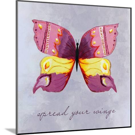 Spread Your Wings-Liz Clay-Mounted Art Print
