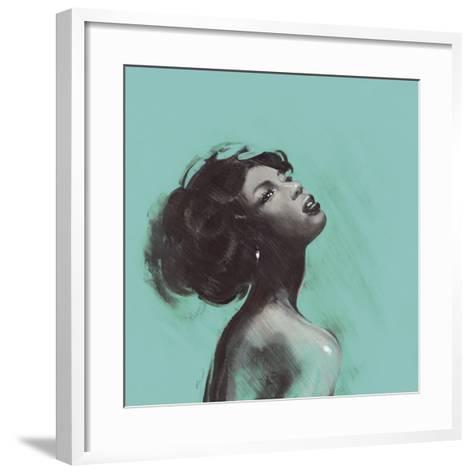 Melody II-Saro-Framed Art Print