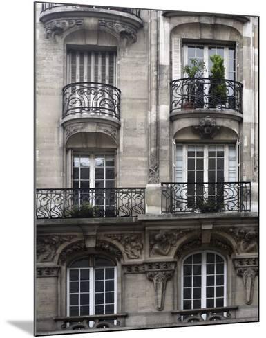 Balcon Parisien I-Tony Koukos-Mounted Art Print