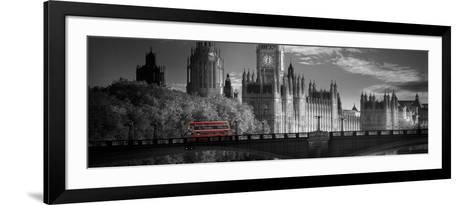 London Bus V-Jurek Nems-Framed Art Print