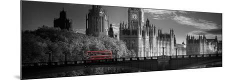 London Bus V-Jurek Nems-Mounted Art Print