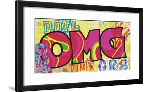 OMG (Oh My Gosh)-Tom Frazier-Framed Art Print