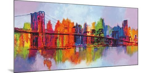 Abstract Manhattan-Brian Carter-Mounted Art Print