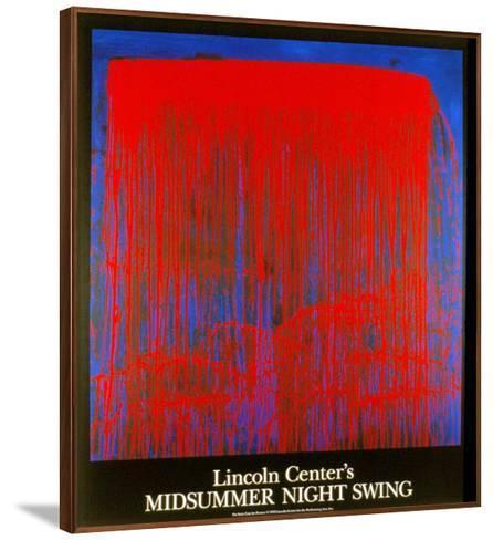 Night Swing-Pat Steir-Framed Art Print