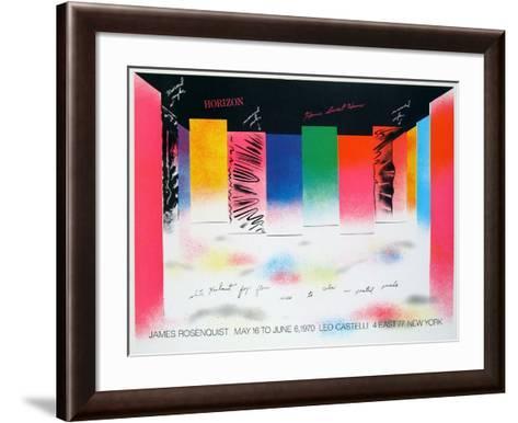 Horizon-James Rosenquist-Framed Art Print