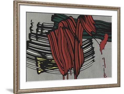 big painting 6 serigraph by roy lichtenstein art com