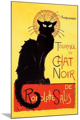 Steinlen - Chat Noir-Th?ophile Alexandre Steinlen-Mounted Poster