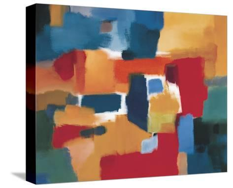 Fields of Music-Nancy Ortenstone-Stretched Canvas Print