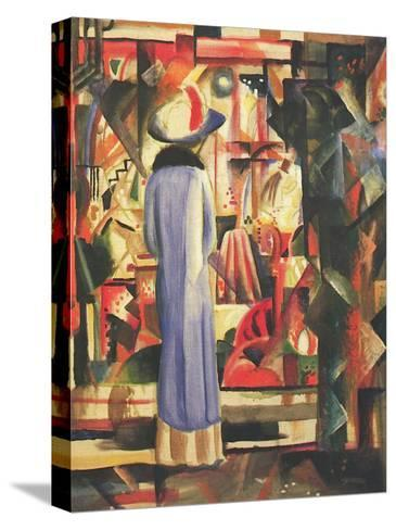 Large Bright Showcase-Auguste Macke-Stretched Canvas Print