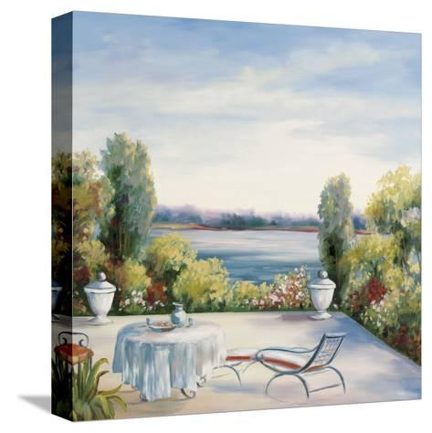 Lakefront View-David Weiss-Stretched Canvas Print