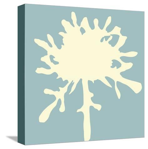 Pomponette (sky)-Denise Duplock-Stretched Canvas Print