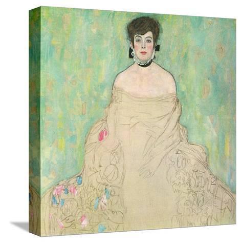 Portrait of Amalie Zuckerkandl, c.1918-Gustav Klimt-Stretched Canvas Print