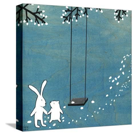 Follow Your Heart- Let's Swing-Kristiana P?rn-Stretched Canvas Print