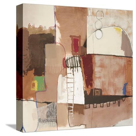Avenue A-Luis Parra-Stretched Canvas Print