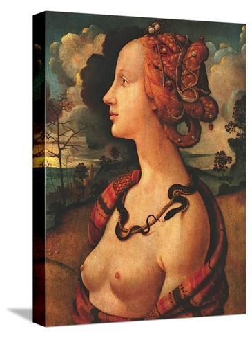 Portrait of Simonetta Vespucci, c. 1480-Piero di Cosimo-Stretched Canvas Print