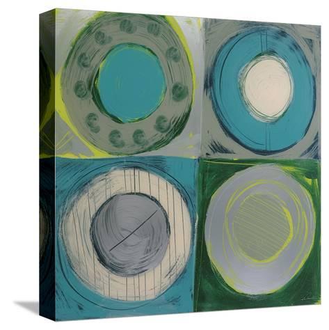 Aquamarine-Sebastian-Stretched Canvas Print