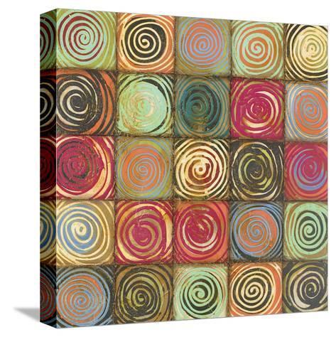 Dizzy I-Susan Osbjorn-Stretched Canvas Print