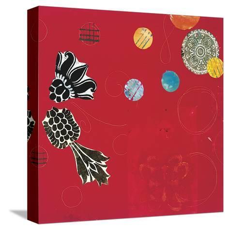 Red Velvet Delight I-Yafa-Stretched Canvas Print