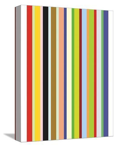 Candy Stripe-Dan Bleier-Stretched Canvas Print