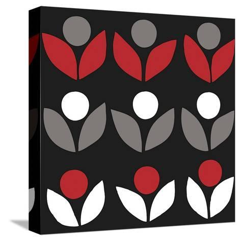 Domino-Denise Duplock-Stretched Canvas Print