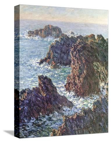 Rock Points at Belle-Ile, c.1886-Claude Monet-Stretched Canvas Print
