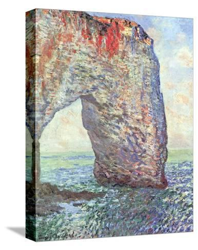 The Manneporte near Etretat, c.1886-Claude Monet-Stretched Canvas Print