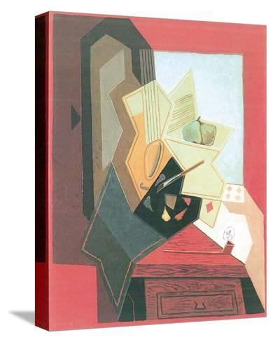 The Painter's Window-Juan Gris-Stretched Canvas Print