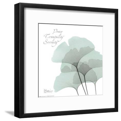 Ginkgo Sea I-Albert Koetsier-Framed Art Print
