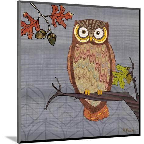 Awesome Owls II-Paul Brent-Mounted Art Print