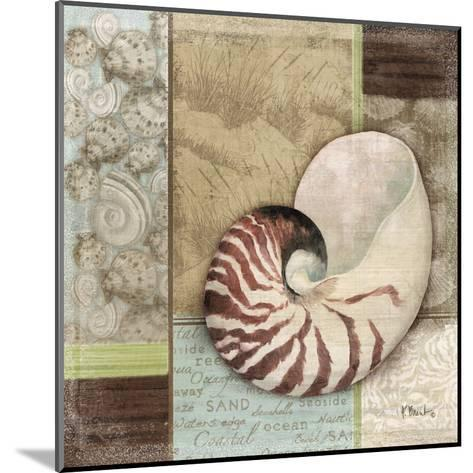 Santa Rosa Shell II-Paul Brent-Mounted Art Print