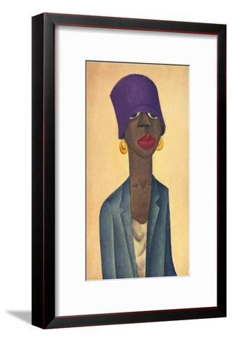 Lenox Avenue Type-Covarrubias-Framed Art Print