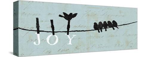 Birds on a Wire - Joy-Alain Pelletier-Stretched Canvas Print