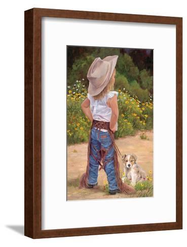 Boss Lady-June Dudley-Framed Art Print