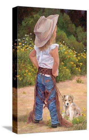 Boss Lady-June Dudley-Stretched Canvas Print