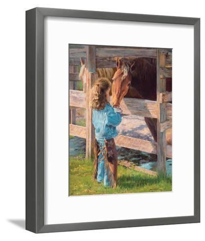 Morning Chores-June Dudley-Framed Art Print