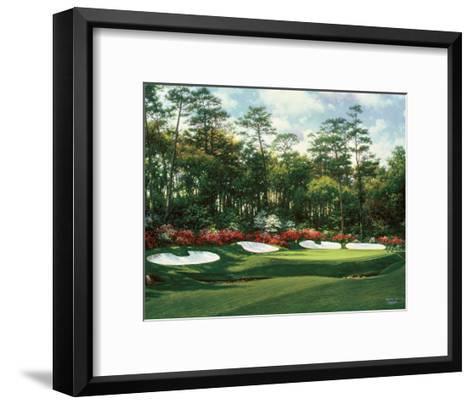 The 13th At Augusta-Larry Dyke-Framed Art Print